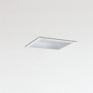 Traddel - Wall or ceiling recessed lamp - Oblò - Recessed ceiling light polycarbonate diffuser - White RAL 9010 - LS-SK-54504