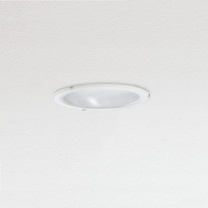 Traddel - Wall or ceiling recessed lamp - Oblò - Recessed round ceiling light silk-screen glass diffuser