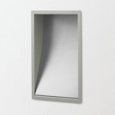 Traddel - Wall or ceiling recessed lamp - Wall L - Wall/ceiling light - Anodized aluminium - LS-LL-50725