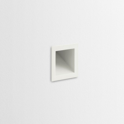 Traddel - Wall or ceiling recessed lamp - Wall S - Wall/ceiling light - White RAL 9010 - LS-LL-51044