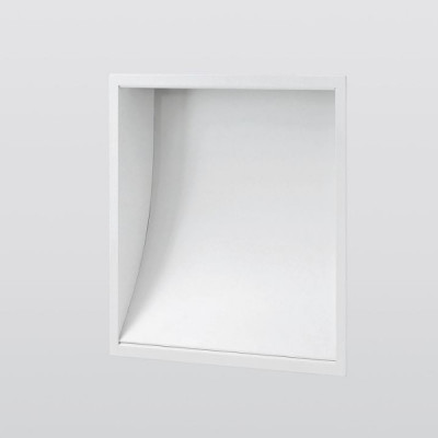 Traddel - Wall or ceiling recessed lamp - Wall XL - Wall/ceiling light - Aluminium grey/Anodized aluminium semi opaque - LS-SK-50745