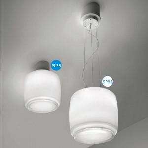 Vistosi - Bot - Bot PL35 - Ceiling lamp M