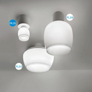 Vistosi - Implode - Implode FA16 - Wall/ceiling spotlight