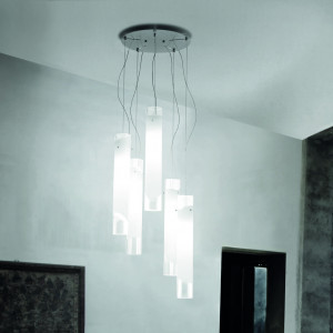 Vistosi - Lio - Lio SP 5 S - Minimal chandelier