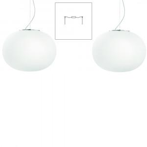 Vistosi - Lucciola - Lucciola SP S D2 - Two lights chandelier with decentralized attachment