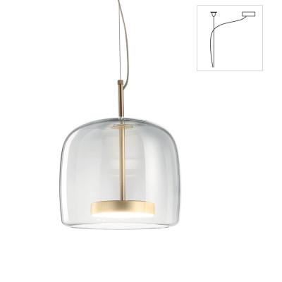 Vistosi - Retrò - Jube SP 1 S D1 - One light chandelier with decentralized attachment - Warm white - 3000 K - Diffused