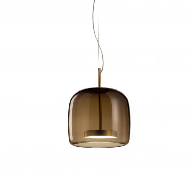 Vistosi - Retrò - Jube SP 1 S - Vintage chandelier - Brown - LS-VI-SPJUBE1PTBOS - Warm white - 3000 K - Diffused