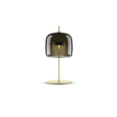 Vistosi - Retrò - Jube TL L LED - Blow glass table lamp - Green - LS-VI-LTJUBEGVAOS