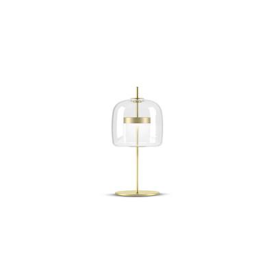 Vistosi - Retrò - Jube TL S LED - Blow glass table lamp - Crystal - LS-VI-LTJUBEPCROS