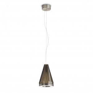 Vistosi - Retrò - Medea SP3 LED - Bloe glass chandelier