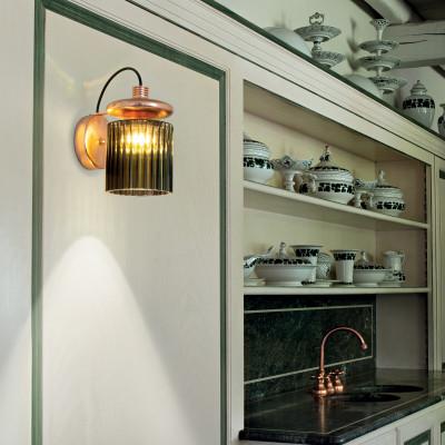 Vistosi - Retrò - Tread AP LED - Design wall light -  - LS-VI-APTREADCRBR