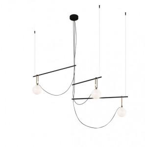 Artemide - NH - NH S3 14 SP - Lampe suspension avec trois sphères lumineuses