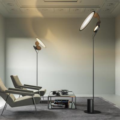 Axo Light -  - Cut PT LED - Lampadaire design - Noir - LS-AX-PTCUTXXXNEXXLED - Blanc chaud - 3000 K - 60°