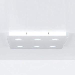 Emporium - Domino - Domino PL 6 - Lampe au plafond à six lumières