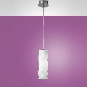 Fabas Luce - Melt - Melt SP S - Lampe suspendue en métal et verre soufflé