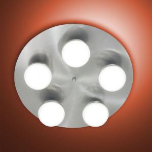 Fabas Luce - Melville - Melville PL L - Lampe de plafond 5 lumières