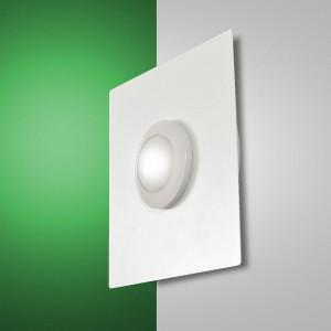 Fabas Luce - Swan - Swan Square AP PL S - Lampe LED de mur ou plafond
