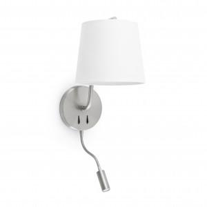 Faro - Indoor - Hotelerie - Berni AP R - Lampe murale avec lumière de lecture