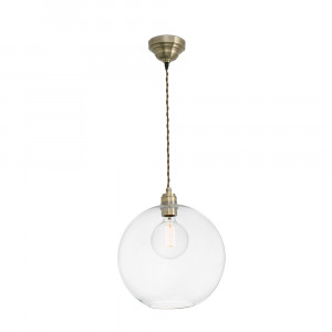 Faro - Indoor - Rustic - Erma SP - Suspension en verre transparent