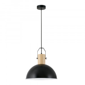 Faro - Indoor - Rustic - Margot SP - Suspension avec  détails en bois