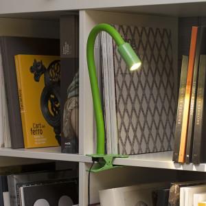 Faro - Indoor - Studio - Nuka TL LED clip - Lampe de table ou pour étagères à pince