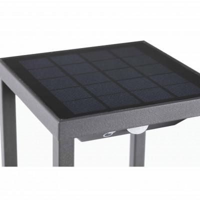 Faro - Outdoor - Alpas - Saura TE LED - Borne lumineuse avec panneau solaire et détecteur de mouvement