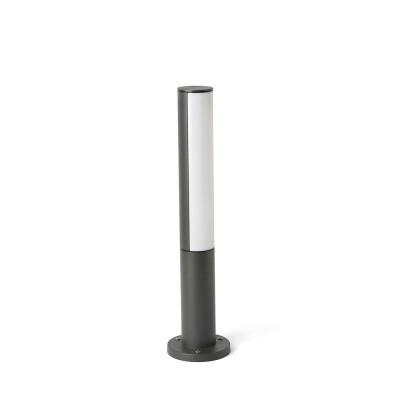 Faro - Outdoor - Cartago - Beret PT LED S - Petite borne pour usage extérieur avec lumière LED en aluminium