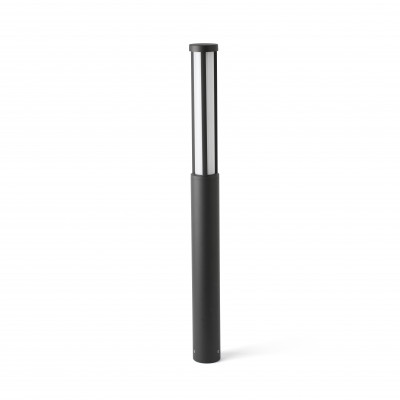 Faro - Outdoor - Cartago - Logar PT M - Borne d'extérieur LED taille M - Anthracite -  - Blanc chaud - 3000 K - 180°