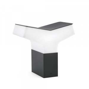Faro - Outdoor - Datna - Tau TE - Lampe de jardin en aluminium - Gris - LS-FR-74446