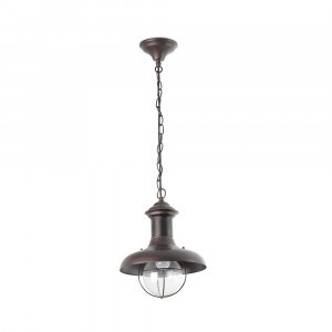 Faro - Outdoor - Estoril - Estoril SP S - Suspension rustique petite pour  terrasses - Rouille - LS-FR-71142