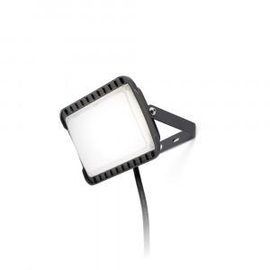Faro - Outdoor - Garden - Flux AP LED - Applique lumière LED d'extérieur en aluminium - Gris -  - Blanc chaud - 3000 K - Diffuse