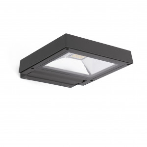 Faro - Outdoor - Garden - Karl AP LED - Applique murale LED de jardin - Anthracite -  - Blanc chaud - 3000 K - 30°