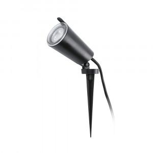 Faro - Outdoor - Garden - Toni TE AP - Lampe murale ou de sol orientable avec piquet - Noir - LS-FR-71528