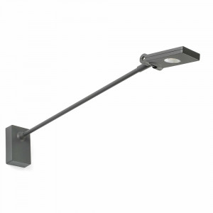 Faro - Outdoor - Garden - Toran AP LED - Applique murale LED avec bras réglable - Gris -  - Blanc naturel - 4000 K - 120°
