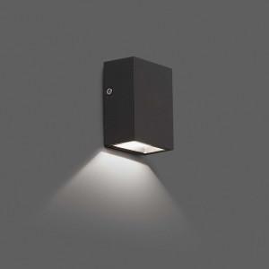 Faro - Outdoor - Klamp - Canon AP LED - Applique murale LED - Gris -  - Blanc chaud - 3000 K - 120°