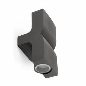 Faro - Outdoor - Klamp - Klamp AP 2L - Applique en aluminium avec deux lumières - Anthracite - LS-FR-74408