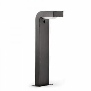 Faro - Outdoor - Klamp - Klamp PT - Borne d'éclairage de jardin et d'allées en aluminium - Anthracite - LS-FR-74411