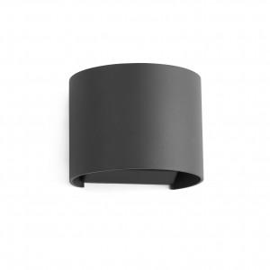 Faro - Outdoor - Klamp - Sunset AP LED - Applique murale LED à double émission - Anthracite -  - Blanc chaud - 3000 K - Diffuse