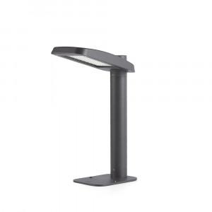 Faro - Outdoor - Klamp - Yak PT LED - Borne design avec lumière LED - Gris -  - Blanc naturel - 4000 K - Diffuse