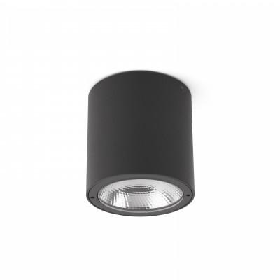 Faro - Outdoor - Naomi - Goz PL LED - Plafonnier LED extérieur - Anthracite -  - Blanc chaud - 3000 K - 40°