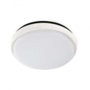 Faro - Outdoor - Naomi - Mera PL LED - Plafonnier LED pour terrasses et balcons - Blanc -  - Blanc chaud - 3000 K - Diffuse