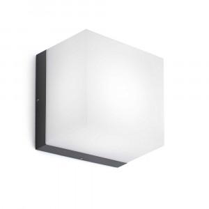 Faro - Outdoor - Naomi - Naomi AP PL LED - Lampe murale ou de plafond LED pour terrasses et extérieurs - Gris -  - Blanc chaud - 3000 K - Diffuse