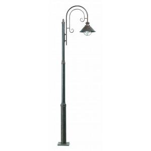 Faro - Outdoor - Nautica - Nautica 1L PT - Borne LED en style rustique d'extérieur avec une lumière