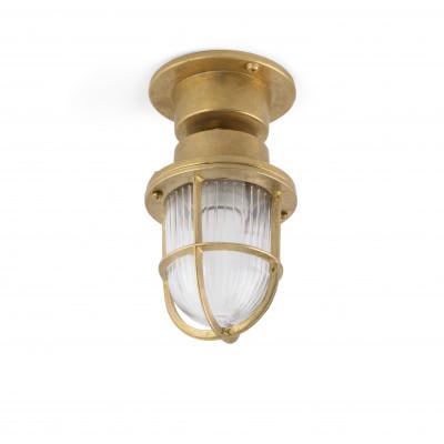 Faro - Outdoor - Ottone - Mauren PL - Lampe de sol ou plafonnier en laiton d'extérieur - Laiton - LS-FR-70993