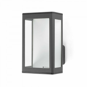 Faro - Outdoor - Paris - Mare AP LED - Applique LED pour terrasses - Gris -  - Blanc chaud - 3000 K - Diffuse