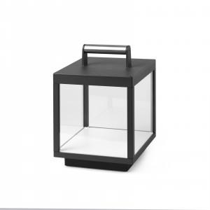 Faro - Outdoor - Portable - Kerala TL TE LED - Lampe portable LED et avec touch dimmer intégré - Anthracite -  - Blanc chaud - 3000 K - Diffuse