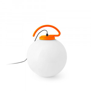 Faro - Outdoor - Portable - Nuk PR - Lampe supensione portable d'extérieur - Orange - LS-FR-70484