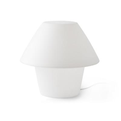 Faro - Outdoor - Portable - Versus TL - Lampe de table desing d'extérieur - Blanc - LS-FR-74423