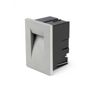 Faro - Outdoor - Sedna - Horus FA LED S - Spot de chemin encastrable LED en aluminium taille petite - Gris -  - Blanc chaud - 3000 K - 50°