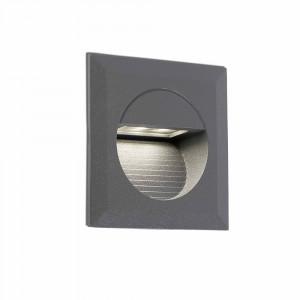 Faro - Outdoor - Sedna - Mini Carter FA LED - Spot encastrable de jardin à LED - Gris -  - Blanc naturel - 4000 K - 45°